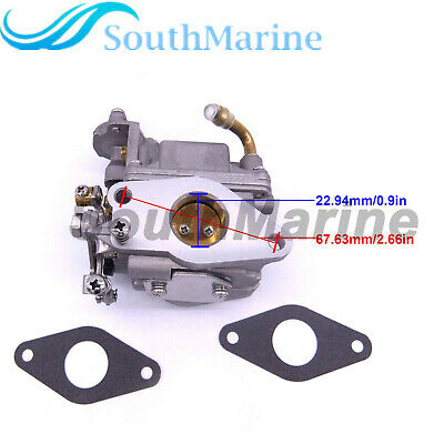 5040793 Carburetor and 5041274 Gaskets for Evinrude Johnson OMC 9.8HP