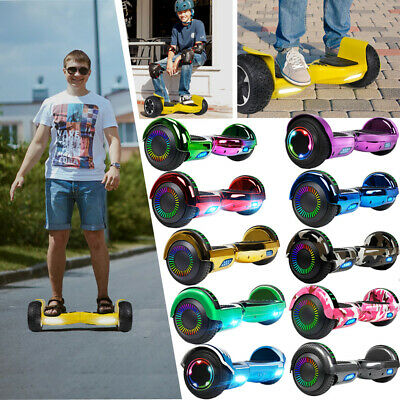 6.5'' Bluetooth Hoverboard Self-Balancing Electric Scooter LED UL2272 W Bag XMAS