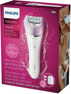 Philips  BRE615/00 Satinelle Advanced Wet and Dry Epilator