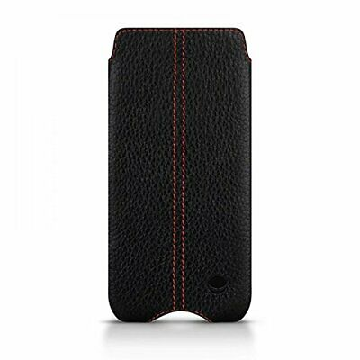 Beyzacases Genuine Leather Zero Case for Sony Xperia Z5 Compact - Black