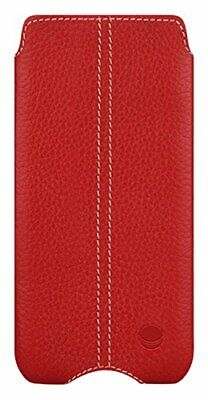 Beyzacases Genuine Leather Zero Case for Sony Xperia Z5 Compact - Red