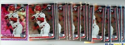 (20) LANE THOMAS 2019 Topps Chrome UPDATE ROOKIE CARD LOT Target Only CARDINALS