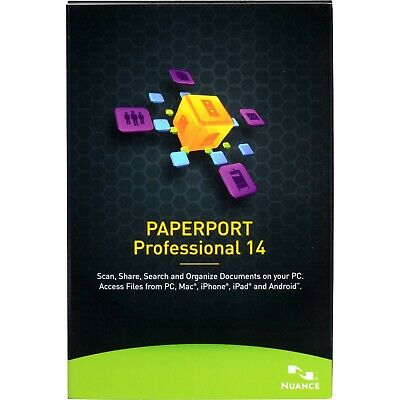 Nuance PaperPort Professional 14 Document Management Software
