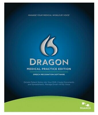 Nuance Dragon Medical Practice Edition v11 Speech Recognition Software