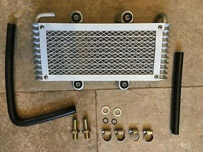 Oil Cooler Radiator Quad Atv Bashan Bs300S-18 With Pipes