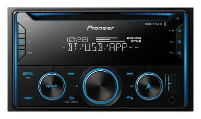 Pioneer FH-S52BT Double DIN CD Receiver with Improved Pioneer Smart Sync App