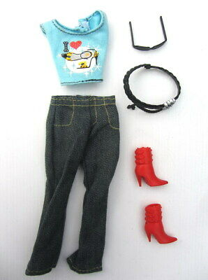BARBIE DOLL - Genuine Clothes & Accessories - Complete Outfit #09 - Modern Body