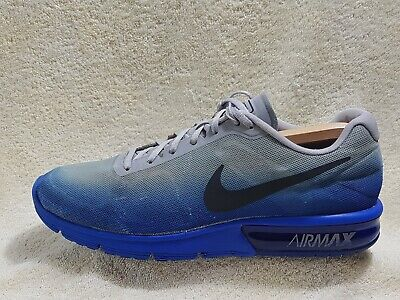 Nike Air Max Sequent mens trainers Blue/Grey UK 11 EU 46