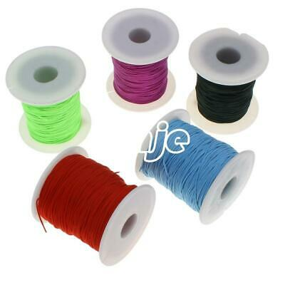 80Yards Nylon Cord Thread Chinese Knot Macrame Beads Bracelet Braided String