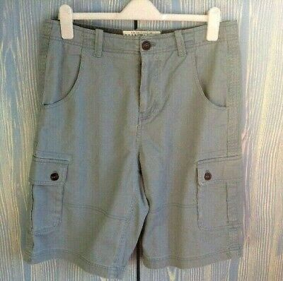 Khaki poplin shorts UK 20 Mantaray