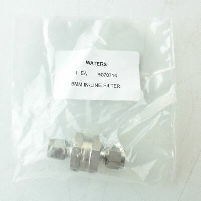 Waters 6070714 IN-LINE NITROGEN FILTER 2 MICRON 6MM Liquid Chromatography