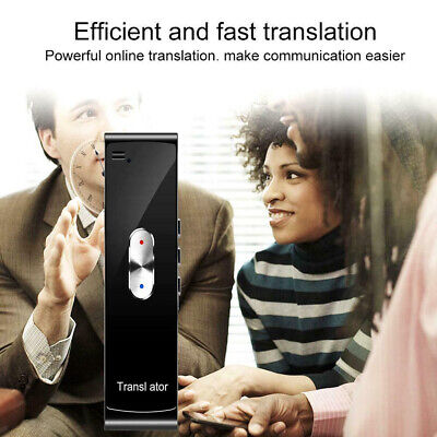 Two-way Bluetooth Speech Accurate Learning Translator Smart Travel Instant Voice