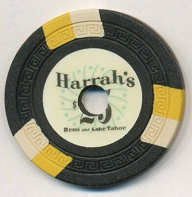 Harrah's Reno and Lake Tahoe $25 Chip 1960's
