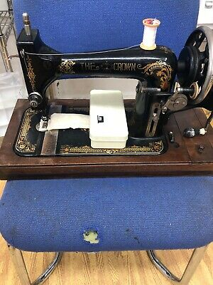 The Crown Sewing Machine (FROM DEALER)