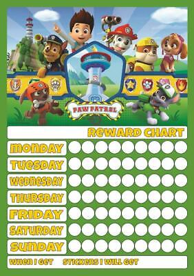 SKYE EVEREST REUSABLE REWARD CHART inc STICKERS /& PEN GOOD BEHAVIOUR POTTY