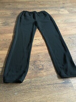 Girls Cuffed Trousers Age 11-12
