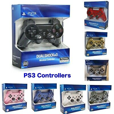 Sony PlayStation 3 Controller. Wireless Sony Dual Shock PS3 Game Pad Sealed Box