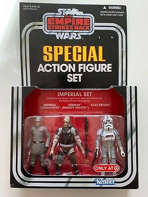 Star Wars Emire Strikes Back Special Action Figure Set Imperial Kenner Target