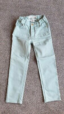 H&M Girls Green Jeans Trousers 4-5 Years