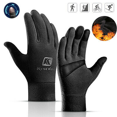 Cold Weather Polar Fleece Gloves for Men & Women Winter Sport Thermal Protection