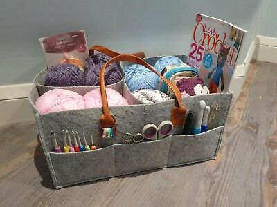 Craft organiser Bag Storage of Crochet, Knitting,Tools,Easter, Mothers Day gifts