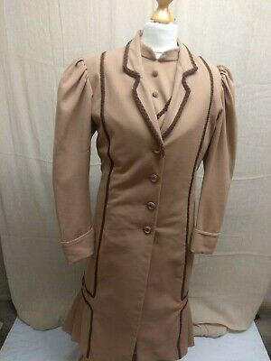 Brown 1910s Ladies Three Piece Outfit