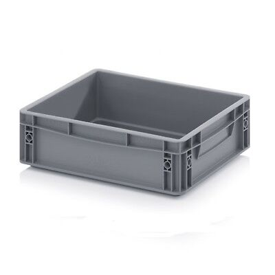 Euro Containers 40x30x12 10l Stacking Storage Box Eurobox Stackable 400x300x120