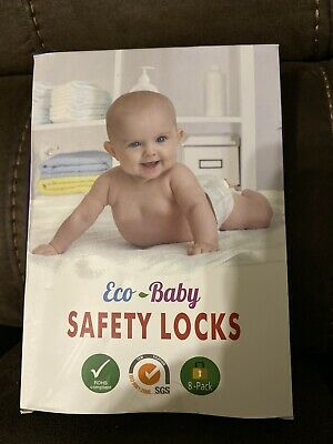 Eco-Baby Child Safety Lock Cabinet,Drawers, Oven, Toilet Seat, Fridge And More