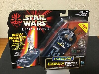 1998 Star Wars Episode 1 Electronic CommTech Chip Reader EP1 Hasbro NEW