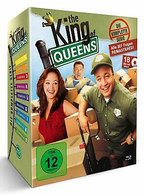 The King Of Queens Complete Series 1-9 Seasons Blu Ray Box Set German Relase New