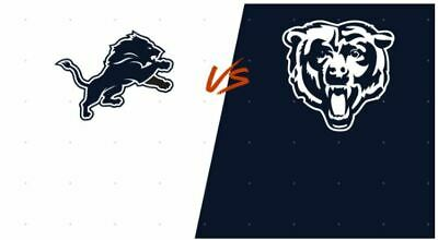 Chicago Bears vs. Detroit Lions - Nov. 10 2019 @ Noon (4 tickets + Parking Pass)