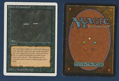 = Word of Command (Unlimited Edition) = MTG Magic the Gathering