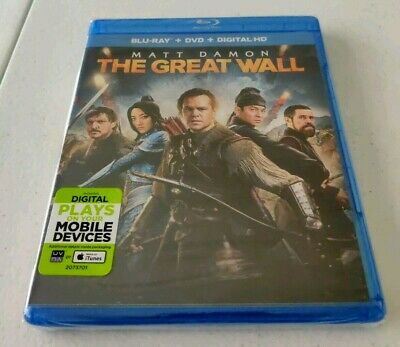 The Great Wall (Blu-ray/DVD, Digital HD, 2017)