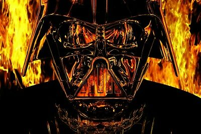 Star Wars Darth Vader poster home decor photo print 16x24, 20x30, 24x36