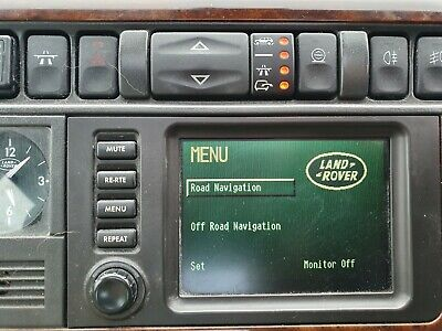 Range Rover p38 sat nav head unit