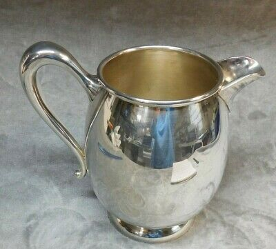 ANTIQUE SILVER PLATE APOLLO  BERNARD RICE'S SONS  water PITCHER