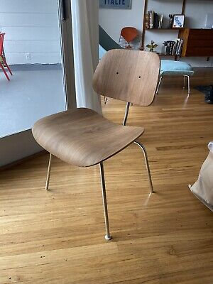 Cool Eames Herman Miller Dcm Chair Molded Plywood Dining Chair Pabps2019 Chair Design Images Pabps2019Com