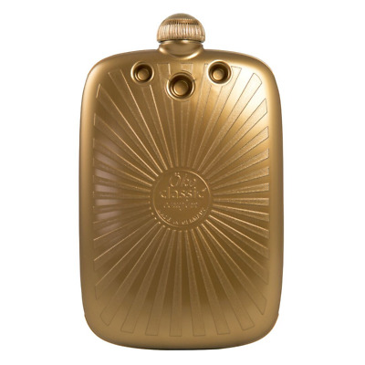 2 Litre Luxury Gold Eco Sustainable Hot Water Bottle