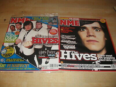 5 June 2004 Nme The Hives - Pj Harvey - 31 July 2004