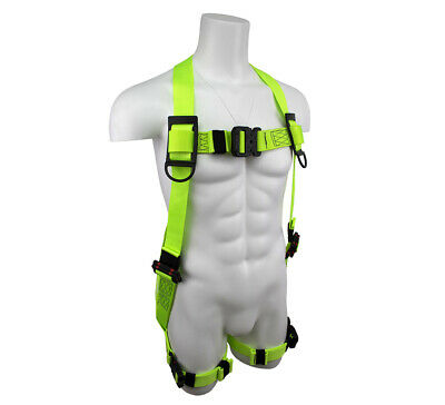 New SafeWaze Full Body Safety Harness Dielectric Hardware Arc Flash XX-Large