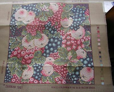 Ehrman Needlepoint Kit Unused Russian Fruits From England