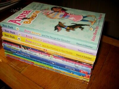10 Kids CHAPTER BOOK LOT 2nd 3rd Grade Level Reading Books