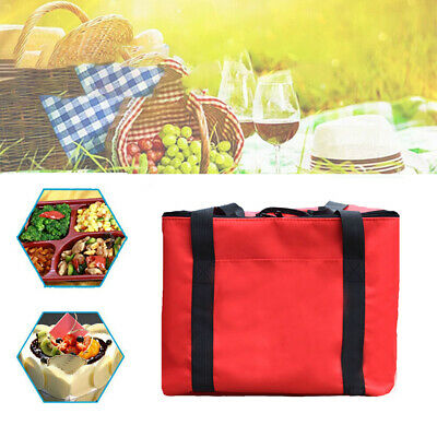 Durable Insulated Oxford Cloth Food Storage Holder Pizza Delivery Bag Waterproof