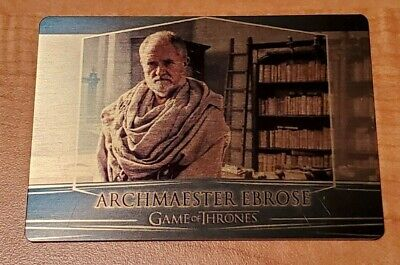 Game of Thrones Season 7 Valyrian Steel GOLD Metal Expansion #107 Archmester