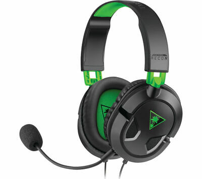 TURTLE BEACH Ear Force Recon 50X 2.0 Gaming Headset - Black & Green - Currys