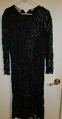 Jasdee Fashion New York Hand Beaded Size L