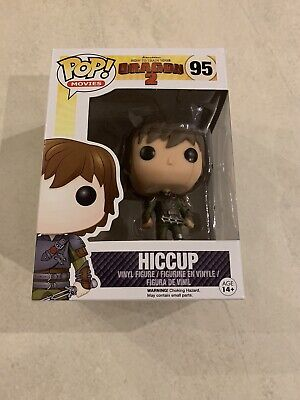 How To Train Your Dragon: Hiccup VAULTED FUNKO POP VINYL FIGURE RARE +PROTECTOR