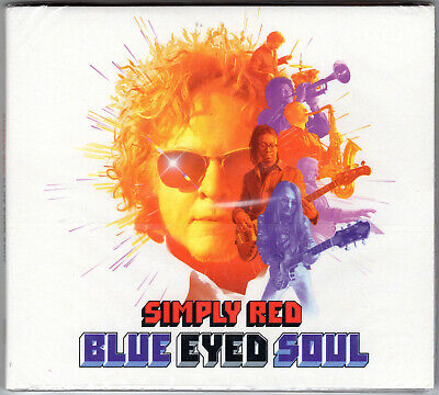 Simply Red - 'Blue Eyed Soul' CD (2019) *SIGNED BY MICK HUCKNALL'