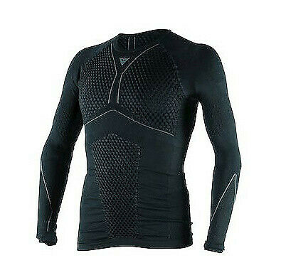 Dainese Black/Anthracite D-Core Thermo Tee Ls - Medium