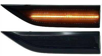 Vw T6 Transporter Smoked Led Sequential Side Repeater Indicators **Very Bright**